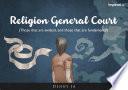 Religion General Court