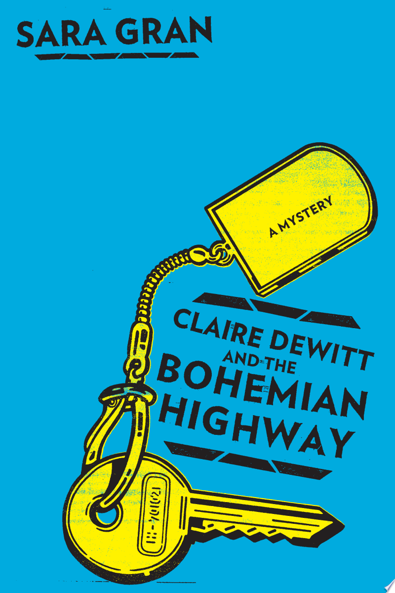 Claire DeWitt and the Bohemian Highway banner backdrop