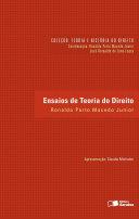 Coleção Teoria e História do Direito: Ensaios de Teoria do Direito