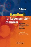 Handbuch für Lebensmittelchemiker