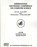 International Electronic Conference on Computer Science