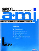 S A M  Advanced Management Journal