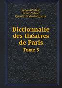 Pdf Dictionnaire des the?atres de Paris Telecharger