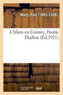 L'Islam En Guinée, Fouta-Diallon ebook