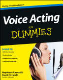 Voice Acting For Dummies Book PDF