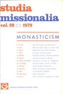 Pdf Studia Missionalia Vol. 28 Telecharger