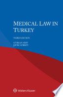 Medical Law in Turkey