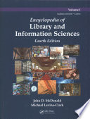 Encyclopedia of Library and Information Sciences, Fourth Edition (Print Version)