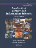 Encyclopedia Of Library And Information Sciences Fourth Edition Print Version