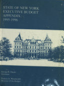 State of New York Executive Budget