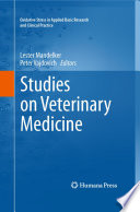Studies on Veterinary Medicine Book
