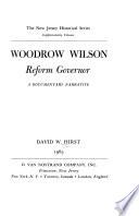Woodrow Wilson, Reform Governor
