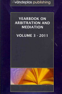 Yearbook on Arbitration and Mediation