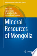 Mineral Resources of Mongolia Book