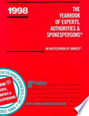 The Yearbook of Experts, Authorities & Spokespersons