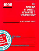 The Yearbook of Experts  Authorities   Spokespersons