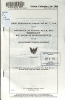 Semiannual Report of Activities of the Committee on Science  Space  and Technology  U S  House of Representatives for the     Congress