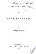 Human Life in Shakespeare