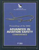 Proceedings Of The 2000 Advances In Aviation Safety Conference
