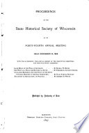Proceedings of the Society at Its 34th  Annual Meeting     Book