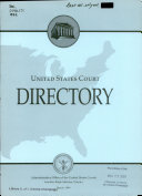 United States Court Directory