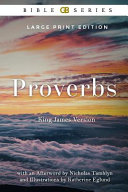 Proverbs  King James Version  Kjv  of the Holy Bible  Illustrated