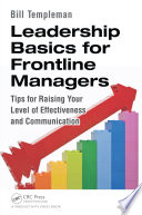 Leadership Basics for Frontline Managers Book PDF