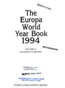 The Europa World Year Book 1994
