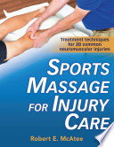 Sport Massage For Injury Care Book PDF