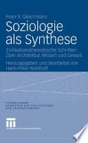 Soziologie als Synthese