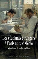 Les étudiants étrangers à Paris au XIXe siècle Pdf/ePub eBook