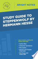 Study Guide to Steppenwolf by Hermann Hesse