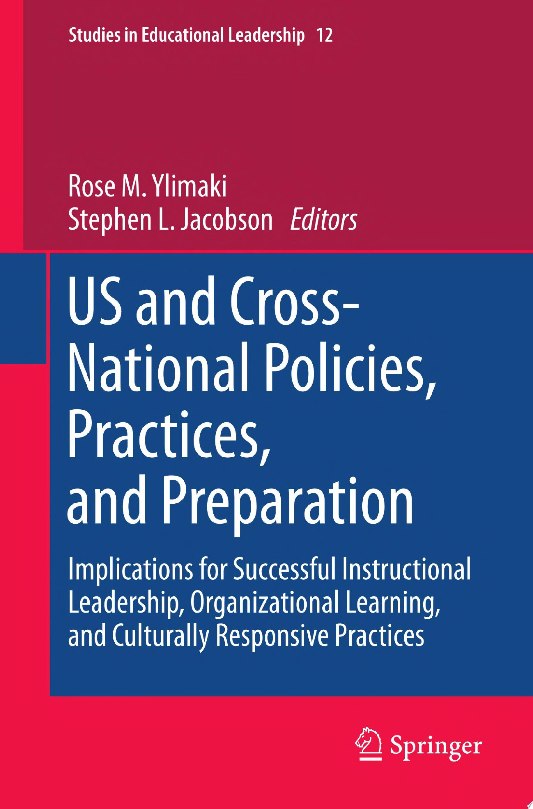 US and Cross National Policies  Practices  and Preparation