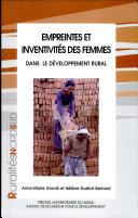 Empreintes et inventivités des femmes dans le développement rural
