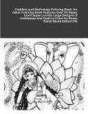 Goddess and Mythology Coloring Book
