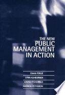 The New Public Management In Action Book PDF