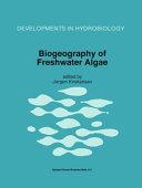 Biogeography of Freshwater Algae