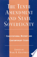The Tenth Amendment and State Sovereignty
