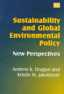 Sustainability and Global Environmental Policy Book