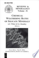 Chemical Weathering Rates of Silicate Minerals