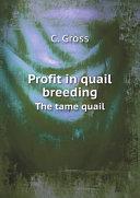Profit in quail breeding