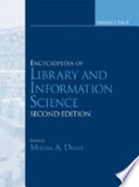 """""""Encyclopedia of Library and Information Science, Second Edition -"""" by Miriam Drake"""