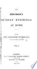 The Churchman S Sunday Evenings At Home