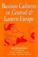 Business Cultures In Central And Eastern Europe