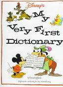 Disney s My Very First Dictionary