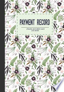 Payment Record Checks and Debit Card Log Book