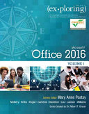 Cover of Exploring Microsoft Office 16