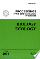 Proceedings of the Estonian Academy of Sciences, Biology and Ecology
