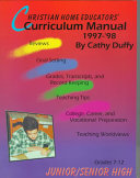 Christian Home Educators  Curriculum Manual