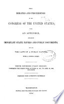 The Debates and Proceedings in the Congress of the United States Book PDF